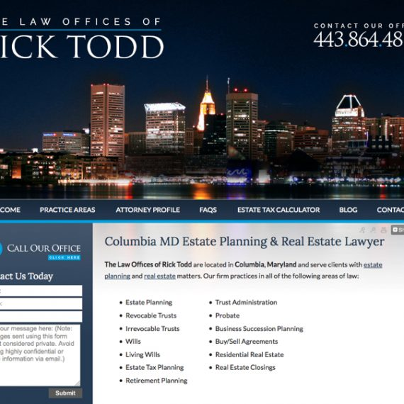 The Law Offices of Rick Todd- eyler creative