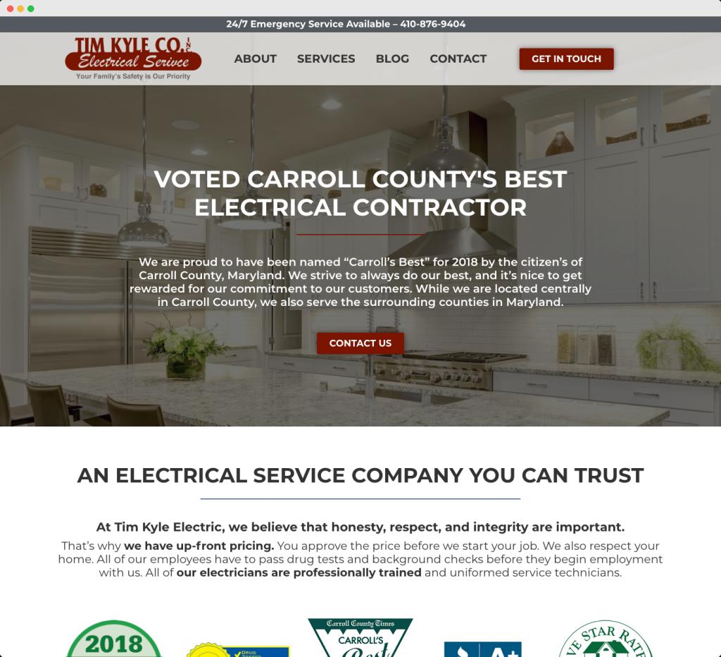 Maryland Web Design & Digital Marketing Agency - Eyler Creative