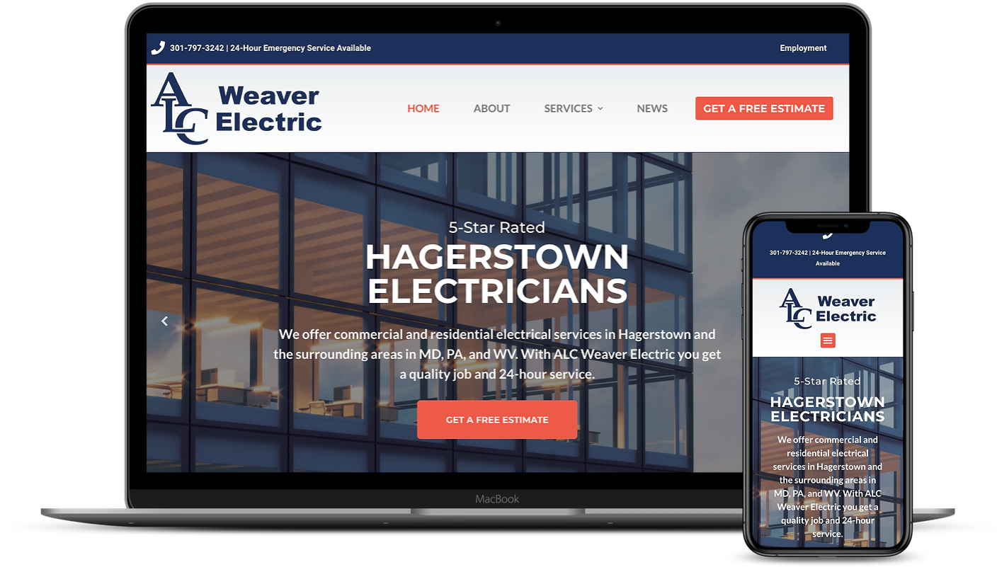 ALC Weaver Electric | Eyler Creative